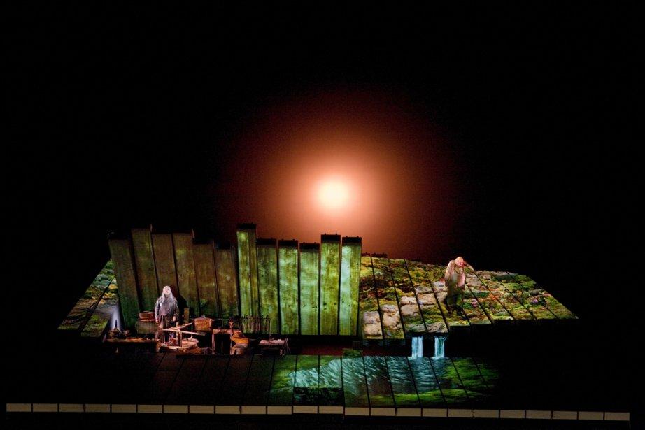 Acte 1 de l'opéra Siegfried de Richard Wagner,... (Photo: Archives La Presse)