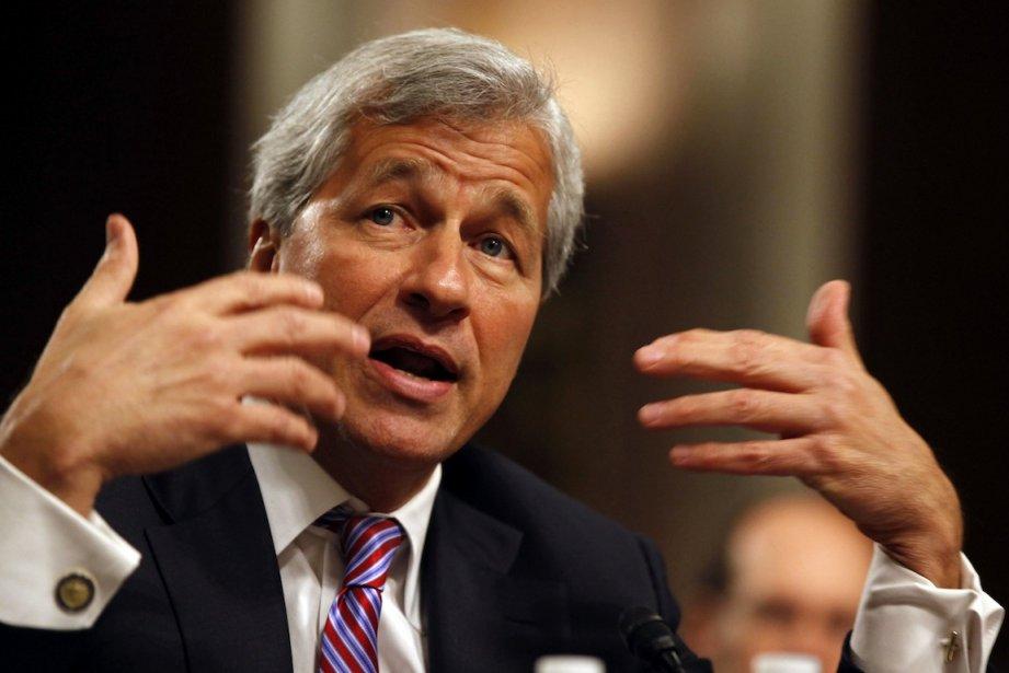 Le président de JP Morgan Chase, Jamie Dimon,... (PHOTO : LARRY DOWNING, REUTERS)