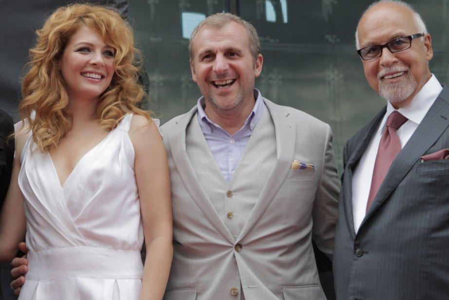 Rachelle Lefevre, Patrick Huard et René Angélil.... | 2012-06-18 00:00:00.000