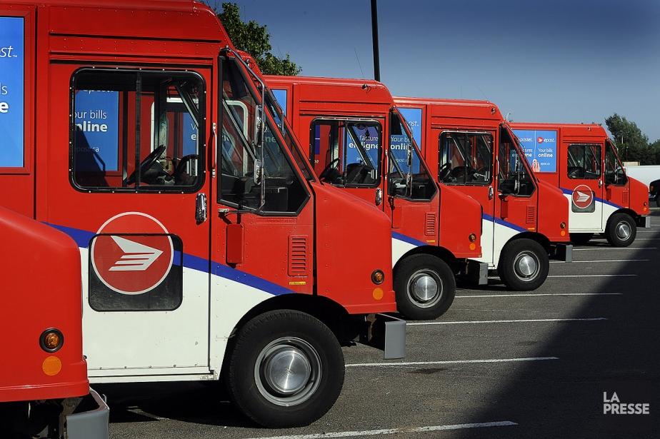 Le Groupe d'entreprises de Postes Canada a fait... (Photo: archives La Presse)