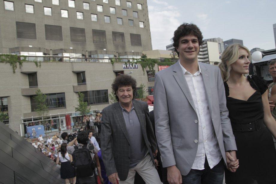 Robert Charlebois et son fils Jérôme étaient également au rendez-vous. | 18 juin 2012