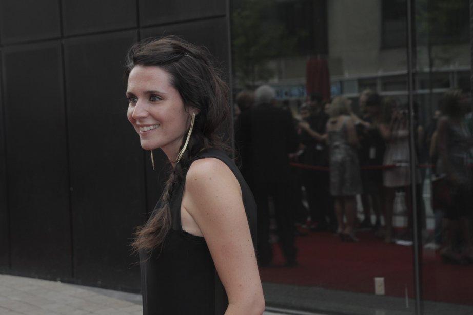 L'actrice Mélissa Désormeaux-Poulin. | 18 juin 2012