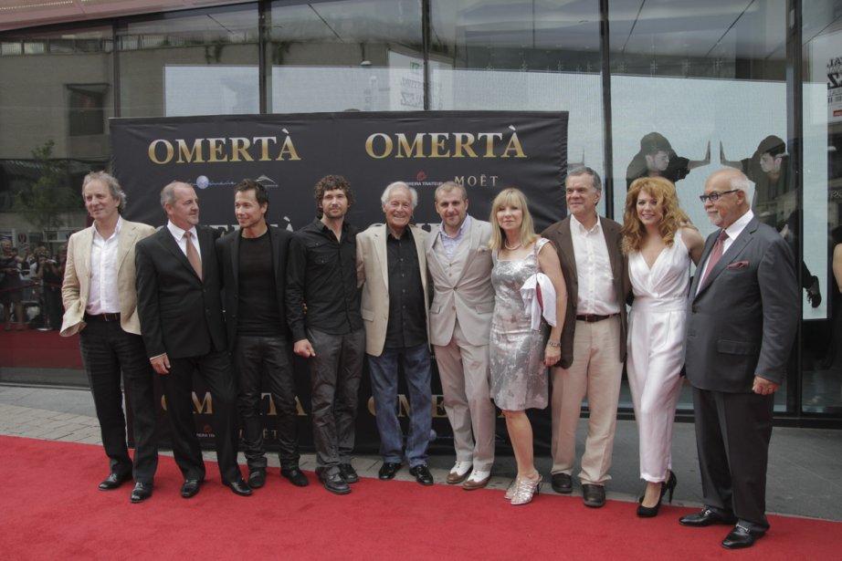L'équipe du film était à la Place des Arts, hier. | 18 juin 2012