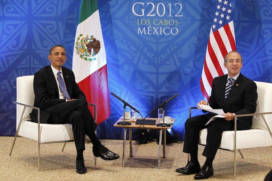 Le président des États-Unis Barack Obama a rencontré... (PHOTO : JASON REED, REUTERS)