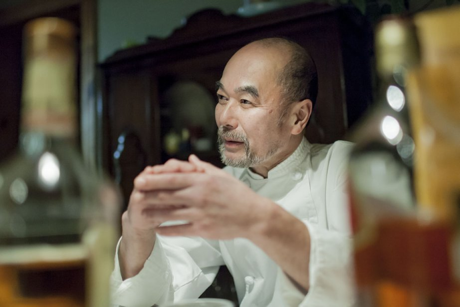 Takanori Serikawa, chef cuisinier et artiste peintre établi... (Photo Édouard Plante-Fréchette, La Presse)