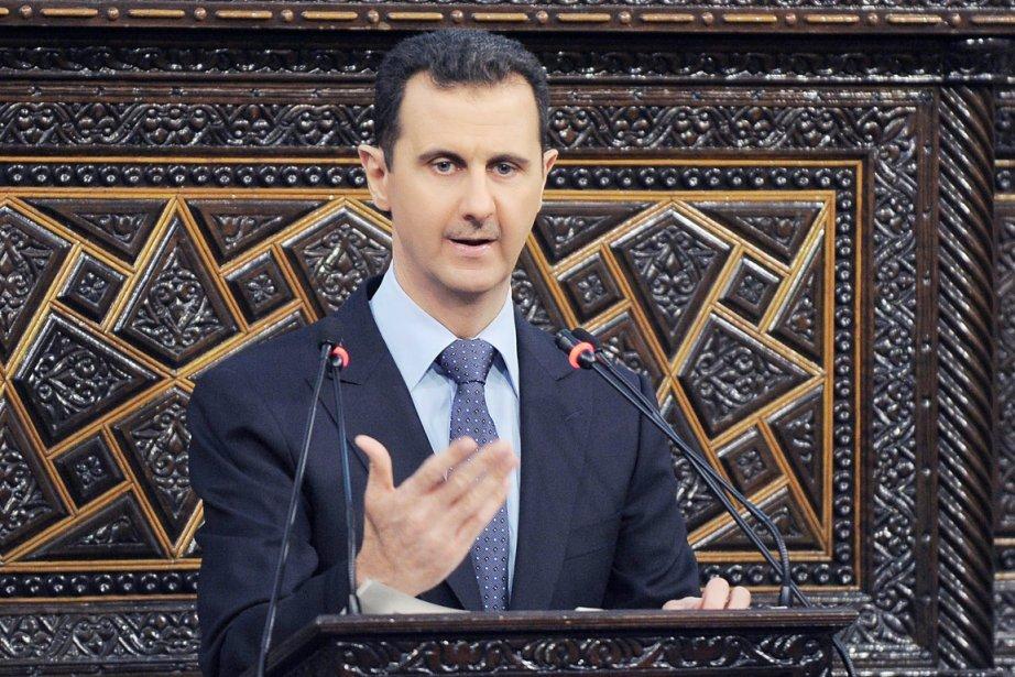 Le président syrien Bachar al-Assad.... (Photo: AP)