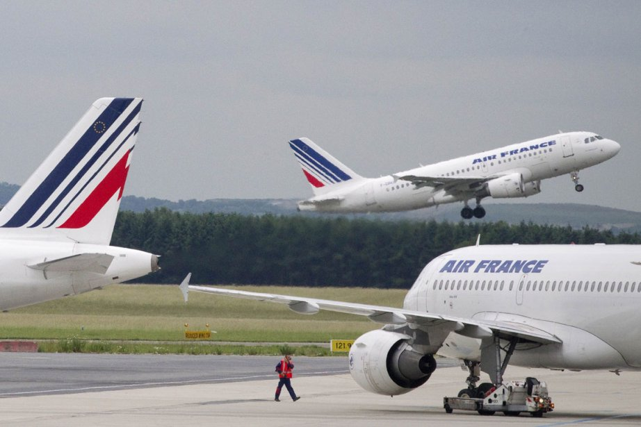 Air France va ouvrir l'été prochain deux nouvelles lignes à... (Photo AFP)