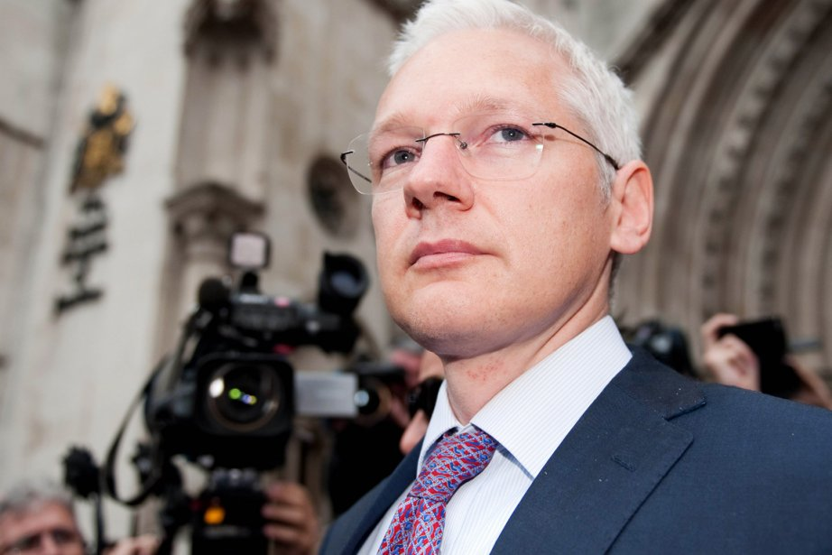 Le fondateur de WikiLeaks Julian Assange.... (Photo: Leon Neal, AFP)