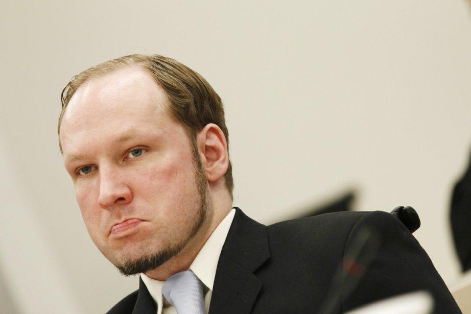 Anders Behring Breivik... (Photo: Heiko Junge, AFP)
