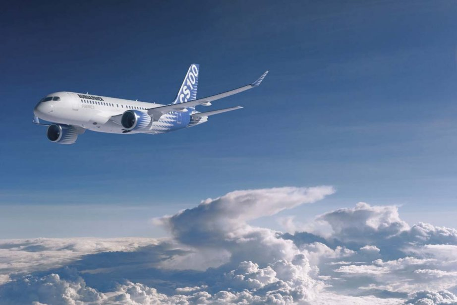 CSeries CS100 de Bombardier.... (Photo: Bombardier)