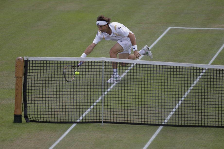 L'Espagnol David Ferrer a remporté à 30 ans... (Photo: Peter Dejong, Associated Press)