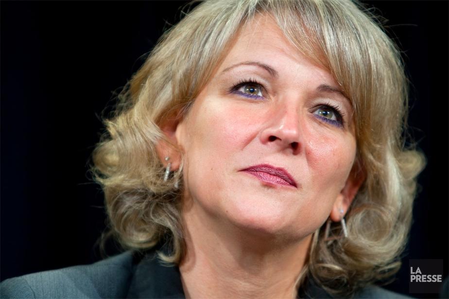 Lise Thériault... (Photo: Alain Roberge, archives La Presse)