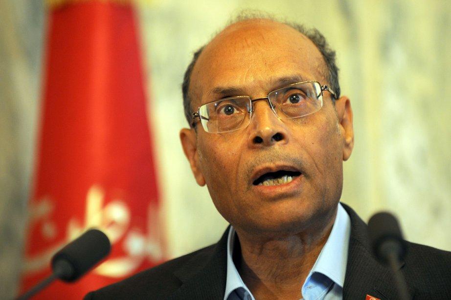 Le président tunisien Moncef  Marzouki (photo) n'a... (Photo: archives AFP)