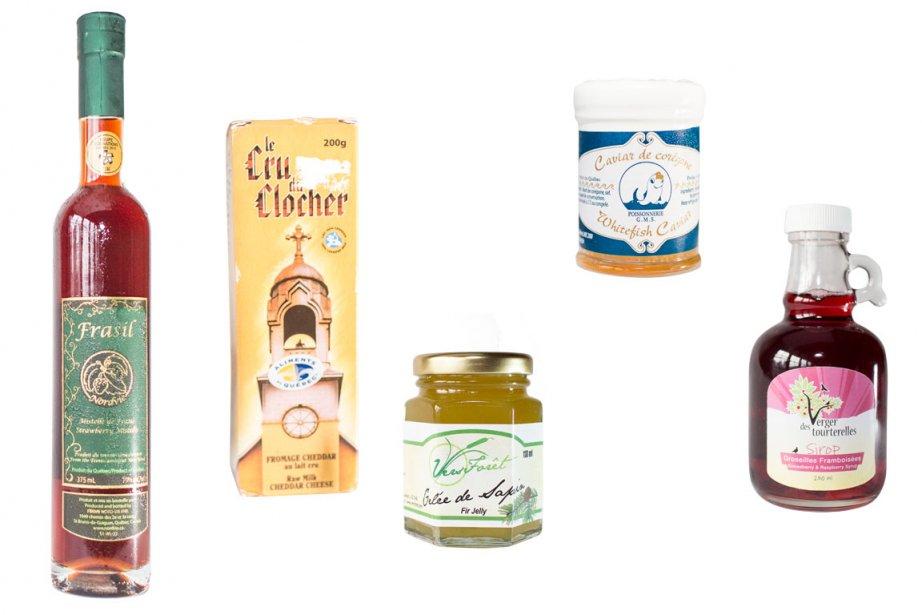 Des produits du Témiscamingue... (Photos La Presse)