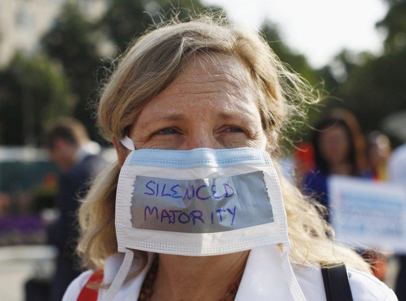 Une représentante de la majorité silencieuse. | 28 juin 2012