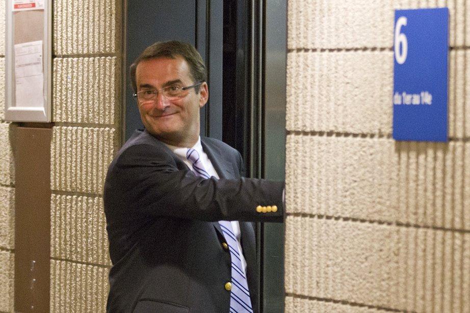 Jean Lapierre, photographié au palais de justice de... (Photo: Ivanoh Demers, La Presse)