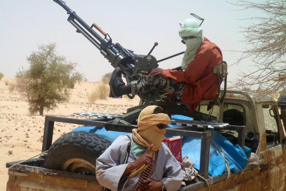 Les islamistes d'Ansar Dine veulent appliquer la charia... (Photo : Romaric Ollo Hien, AFP)