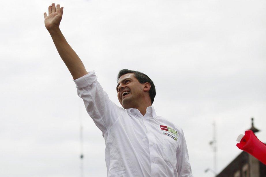 Enrique Peña Nieto semble en bonne posture pour... (Photo : Tomas Bravo, Reuters)