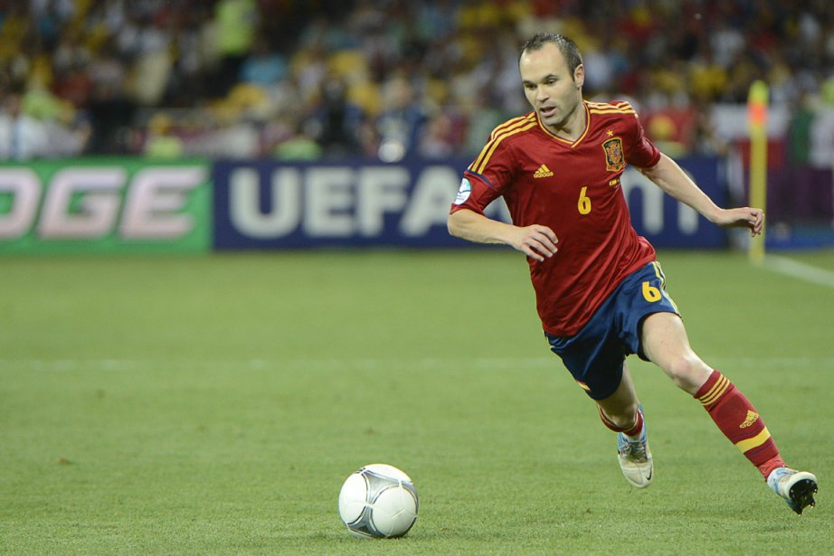 Andres Iniesta... (Photo Pierre-Philippe Marcou, AFP)