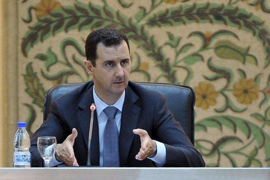 Le président syrien Bachar al-Assad.... (Photo: fournie par le régime syrien)