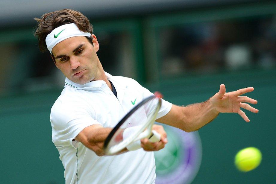 C'est la 33e fois d'affilée que Federer se... (Photo: AFP)