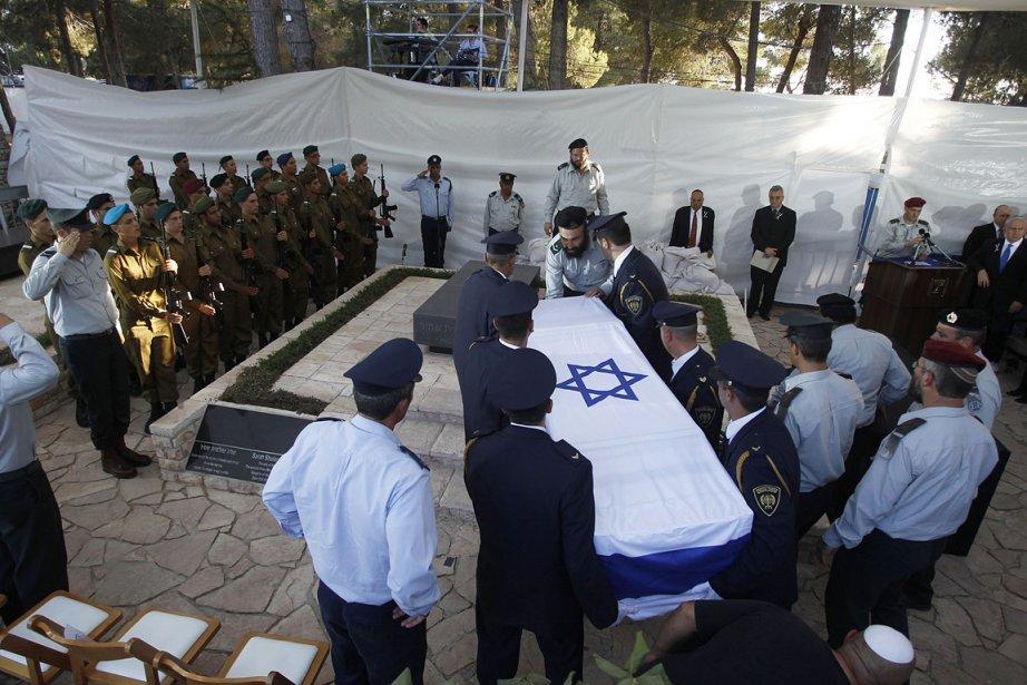 Yitzhak Shamir a été premier ministre du Likoud... (Photo: AFP)