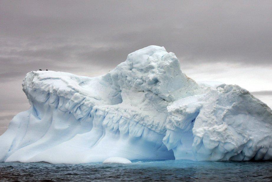 Un glacier en Antarctique.... (Photo: archives AFP)
