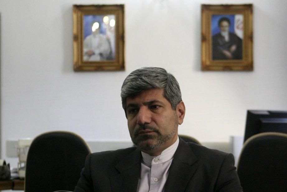 Ramin Mehmanparast, porte-parole du ministère des Affaires étrangères... (PHOTO: FARZANEH KHADEMIAN, COLLABORATION SPECIALE)