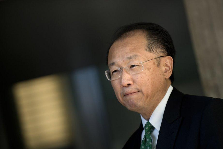 Jim Yong Kim... (Photo : Brendan Smialowski)