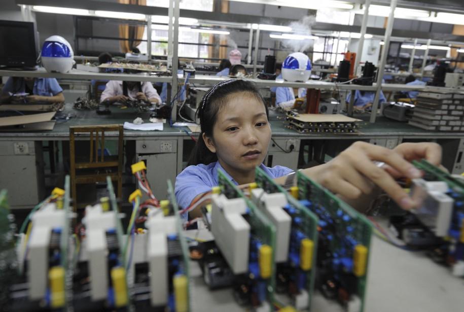 L'indice PMI «témoigne d'une faiblesse persistante du secteur... (Photo AFP)