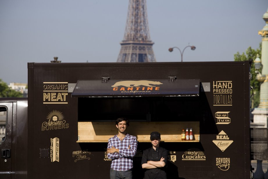 Cantine California, à Paris.... (Photo NYTimes)