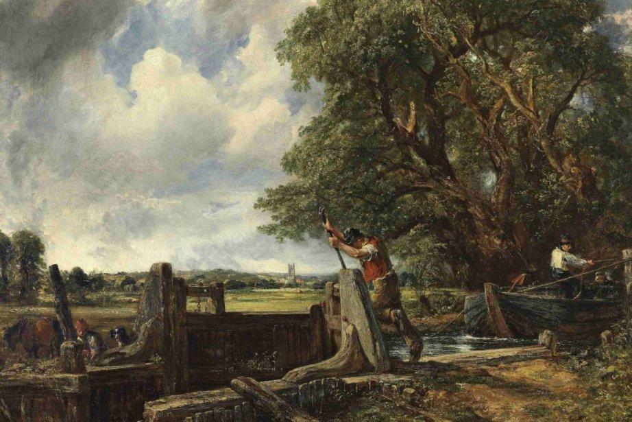 L'écluse, tableau du peintre paysagiste britannique John Constable,... (Photo: Reuters)
