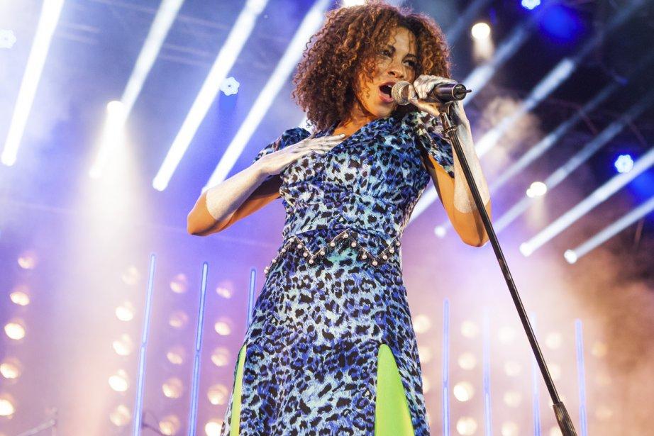Adeline Michèle, chanteuse du groupe new-yorkais Escort, a... (Photo: Édouard Plante-Fréchette, La Presse)