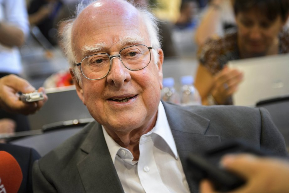 Peter Higgs... (Photo AFP)