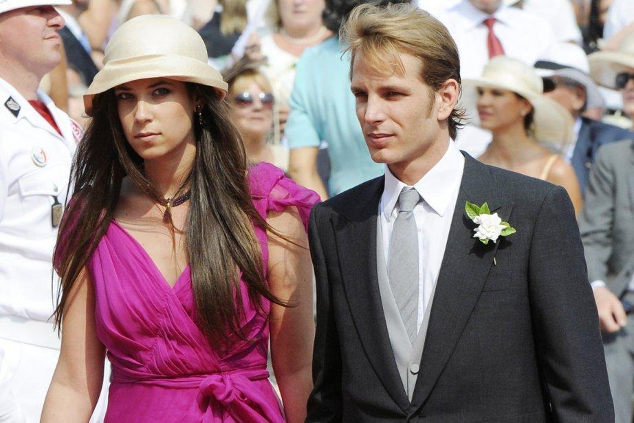 Lefils aîné de la princesse Caroline de Monaco,... (Photo: Damien Meyer, Archives AFP)