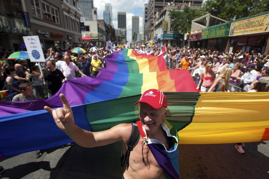 Le défilé de la fierté gaie de Toronto... (PHOTO MARK BLINCH, ARCHIVES REUTERS)