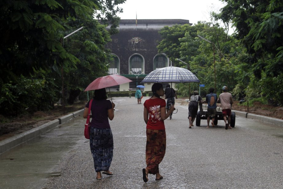 La Birmanie est en pleine explosion touristique, un... (Photo Khin Maung Win, AP)