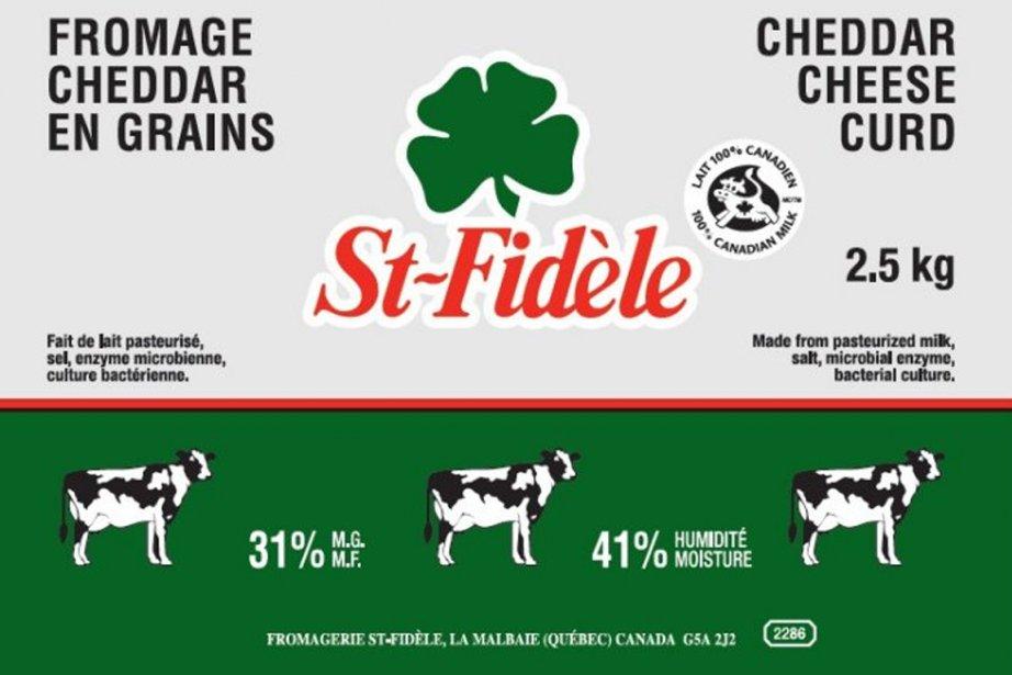 Plusieurs produits de la marque St-Fidèle sont visés... (Photo fournie par l'ACIA)