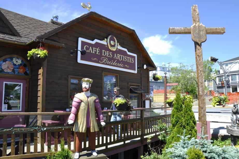 Le Café des artistes, à Gaspé... (Photos Stéphanie Morin, La Presse)