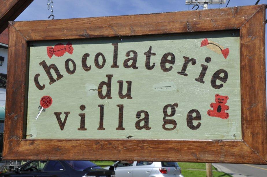 Chocolaterie du village, à Bonaventure | 5 juillet 2012