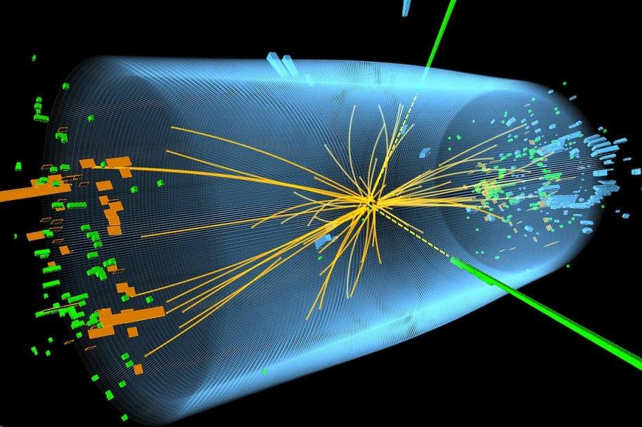 On compare l'importance de la découverte du boson... (PHOTO : CERN - ASSOCIATED PRESS)