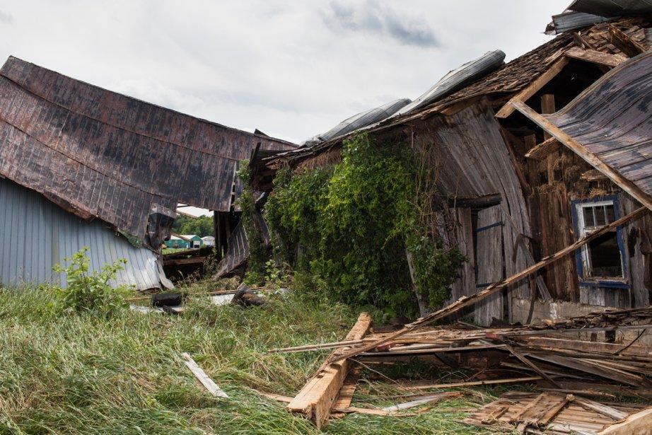 Une véritable catastrophe s'est abattue mercredi soir au sud de l'île de...