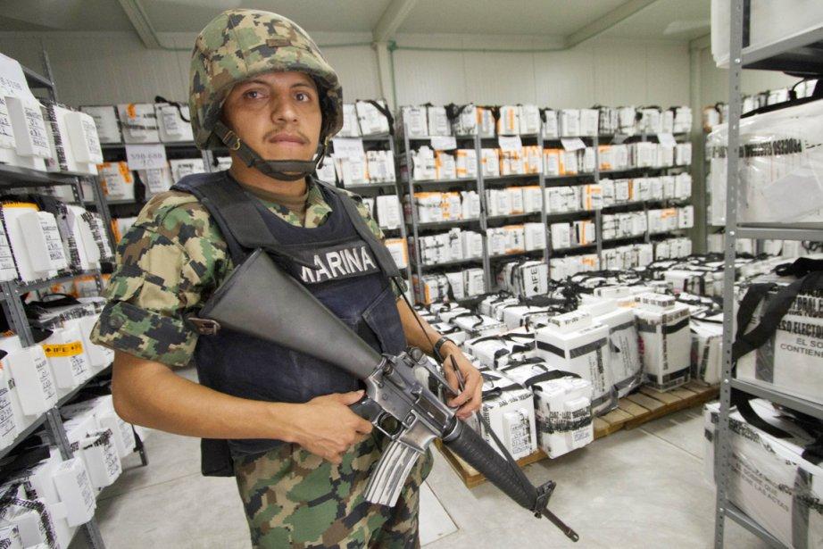 Enrique Peña Nieto, du Parti révolutionnaire institutionnel, a... (Photo: Pedro Pardo, AFP)