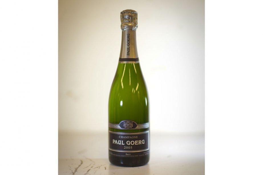 Paul Goerg Brut, Champagne premier cru 2005... (Photo La Presse)