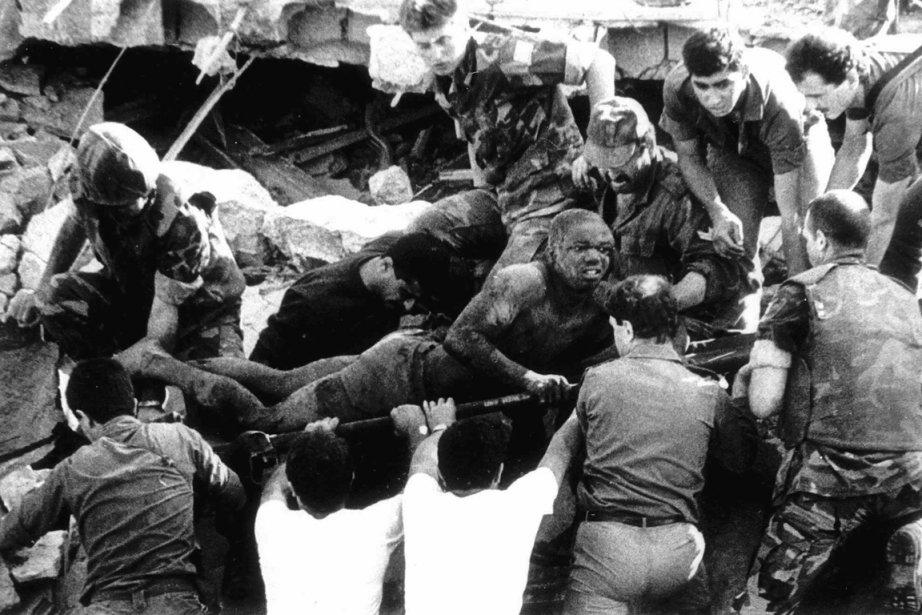 Le 23 octobre 1983, 241 soldats américains, parmi... (Photo: Archives AP)