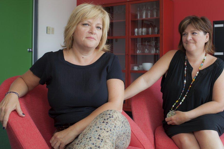 S'il y a des tensions entre Lucie et... (Photo: Édouard Plante-Fréchette, La Presse)