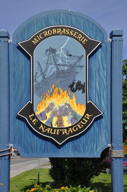 Microbrasserie Le Naufrageur, à Carleton-sur-Mer | 6 juillet 2012