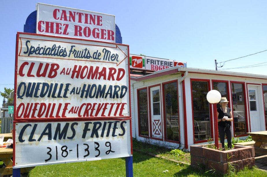 Cantine Chez Roger, à Sainte-Flavie | 6 juillet 2012