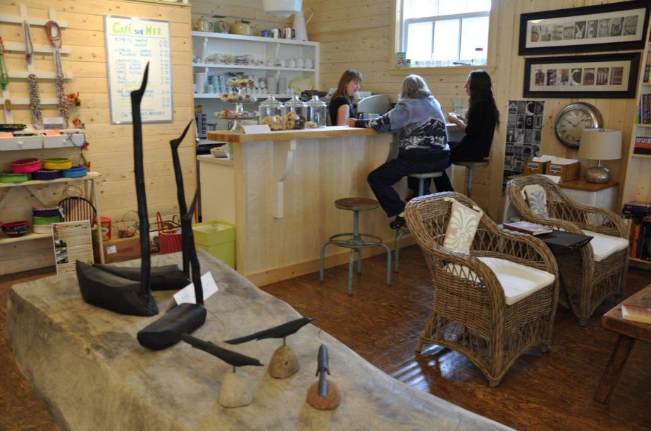 Le Café sur Mer, à Métis-sur-Mer | 6 juillet 2012