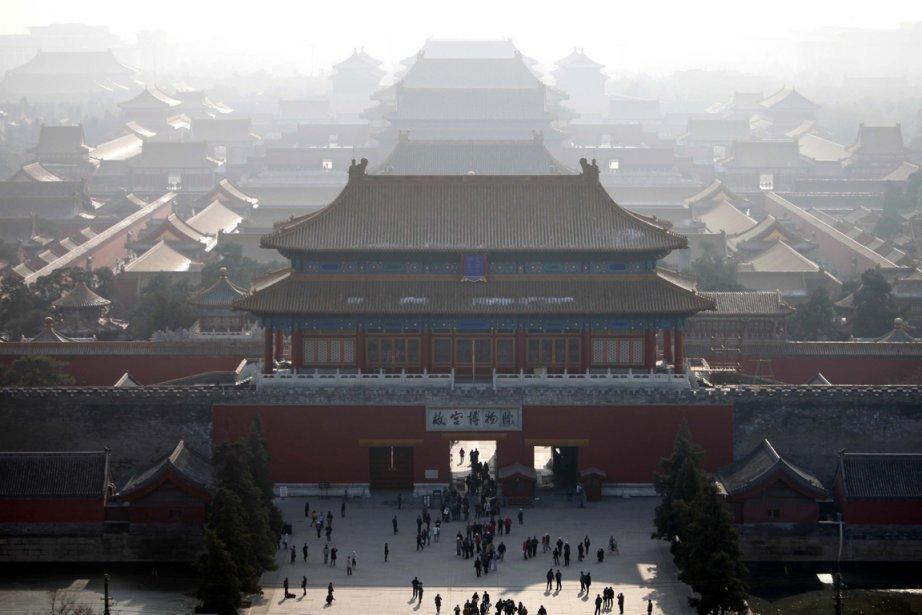 Vue sur le centre de Pékin.... (Photo: AP)